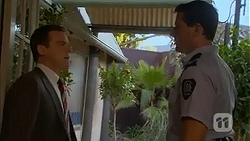 Paul Robinson, Matt Turner in Neighbours Episode 7022