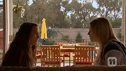 Rain Taylor, Amber Turner in Neighbours Episode 7022