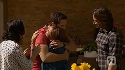 Imogen Willis, Josh Willis, Terese Willis, Brad Willis in Neighbours Episode 7022