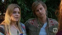 Amber Turner, Daniel Robinson in Neighbours Episode 7023