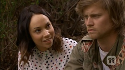 Imogen Willis, Daniel Robinson in Neighbours Episode 7023