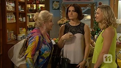 Sheila Canning, Naomi Canning, Georgia Brooks in Neighbours Episode 7023
