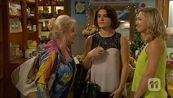 Sheila Canning, Naomi Canning, Georgia Brooks in Neighbours Episode 7023