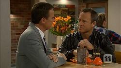 Paul Robinson, Ezra Hanley in Neighbours Episode 7026