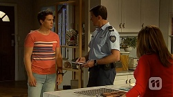 Josh Willis, Matt Turner, Terese Willis in Neighbours Episode 7027