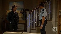 Brad Willis, Matt Turner in Neighbours Episode 7027