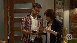 Nate Kinski, Naomi Canning in Neighbours Episode 7027