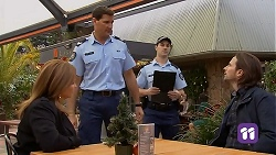 Terese Willis, Matt Turner, Brad Willis in Neighbours Episode 7027