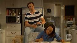 Josh Willis, Imogen Willis in Neighbours Episode 7028