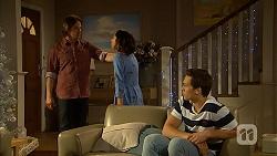 Brad Willis, Imogen Willis, Josh Willis in Neighbours Episode 7028