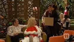 Karl Kennedy, Sheila Canning, Bailey Turner, Naomi Canning in Neighbours Episode 7029