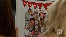 Matt Turner, Lauren Turner, Amber Turner, Paige Smith in Neighbours Episode 7030