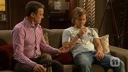Paul Robinson, Daniel Robinson in Neighbours Episode 7030