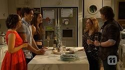 Imogen Willis, Josh Willis, Paige Smith, Terese Willis, Brad Willis in Neighbours Episode 7030