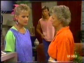 Daphne Clarke, Mike Young, Helen Daniels in Neighbours Episode 0454