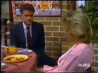 Paul Robinson, Daphne Clarke in Neighbours Episode 0454