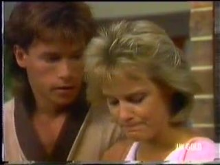 Mike Young, Daphne Clarke in Neighbours Episode 0454
