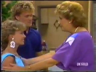 Charlene Mitchell, Henry Ramsay, Madge Bishop in Neighbours Episode 0454