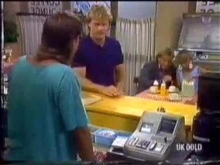 Mike Young, Henry Ramsay, Scott Robinson, Charlene Mitchell in Neighbours Episode 0456