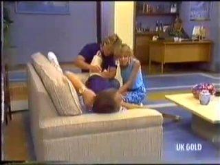Scott Robinson, Charlene Mitchell, Jim Robinson in Neighbours Episode 0456
