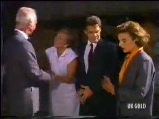 Bernard Elliott, Eileen Clarke, Paul Robinson, Gail Lewis in Neighbours Episode 0456