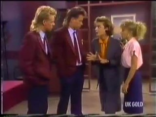 Scott Robinson, Mike Young, Gail Robinson, Charlene Mitchell in Neighbours Episode 0456