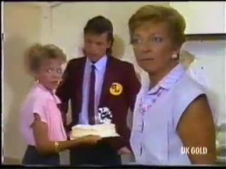 Charlene Mitchell, Mike Young, Eileen Clarke in Neighbours Episode 0456