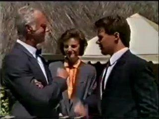 Bernard Elliott, Gail Robinson, Paul Robinson in Neighbours Episode 0457