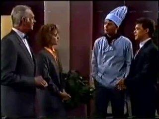 Bernard Elliott, Gail Robinson, Des Clarke, Paul Robinson in Neighbours Episode 0457