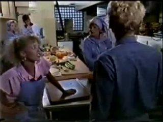 Daphne Clarke, Des Clarke, Charlene Mitchell, Madge Bishop, Dean Bartholomew in Neighbours Episode 0457