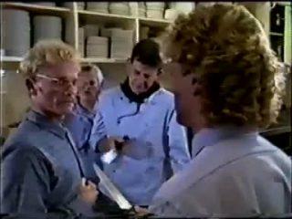 Dean Bartholomew, Daphne Clarke, Des Clarke, Henry Ramsay in Neighbours Episode 0457