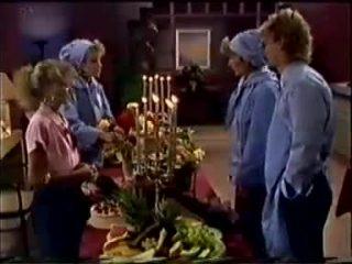 Charlene Mitchell, Daphne Clarke, Madge Bishop, Henry Ramsay in Neighbours Episode 0457