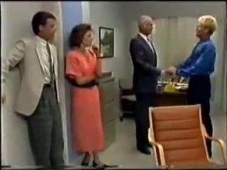 Paul Robinson, Gail Robinson, Bernard Elliott, Dean Bartholomew in Neighbours Episode 0458