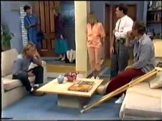 Nell Mangel, Scott Robinson, Helen Daniels, Jane Harris, Paul Robinson, Jim Robinson in Neighbours Episode 0458