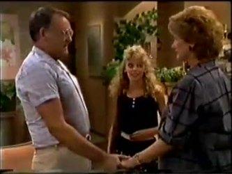 Harold Bishop, Charlene Mitchell, Madge Bishop in Neighbours Episode 0459