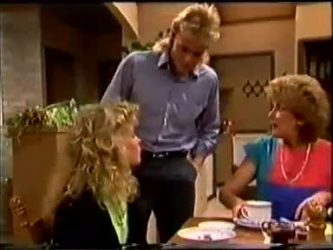 Charlene Mitchell, Scott Robinson, Madge Bishop in Neighbours Episode 0459