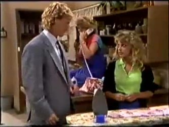 Henry Ramsay, Madge Bishop, Charlene Mitchell in Neighbours Episode 0460