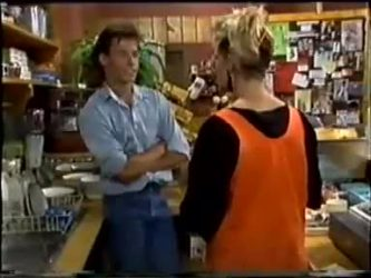 Mike Young, Daphne Clarke in Neighbours Episode 0460