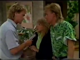Henry Ramsay, Charlene Mitchell, Scott Robinson in Neighbours Episode 0461