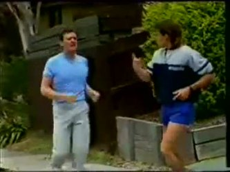 Des Clarke, Mike Young in Neighbours Episode 0461