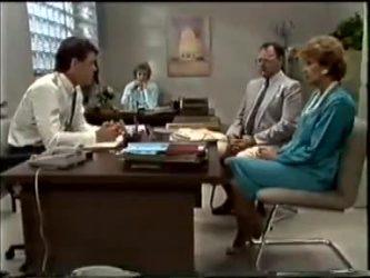 Paul Robinson, Gail Robinson, Harold Bishop, Madge Bishop in Neighbours Episode 0462