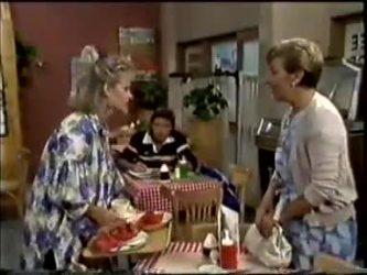 Daphne Clarke, Mike Young, Eileen Clarke in Neighbours Episode 0462