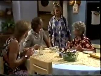 Scott Robinson, Jim Robinson, Daphne Clarke, Helen Daniels in Neighbours Episode 0463