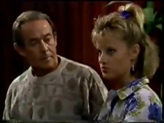 Allen Lawrence, Daphne Clarke in Neighbours Episode 0463