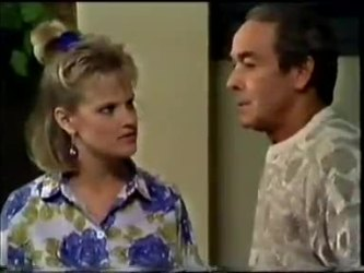 Daphne Clarke, Allen Lawrence in Neighbours Episode 0463