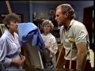 Nell Mangel, Helen Daniels, Jim Robinson in Neighbours Episode 0463