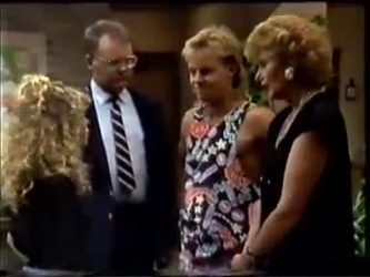 Charlene Mitchell, Harold Bishop, Scott Robinson, Madge Bishop in Neighbours Episode 0463