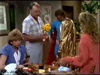 Madge Mitchell, Harold Bishop, Henry Mitchell, Charlene Mitchell in Neighbours Episode 0464
