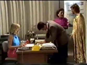 Jane Harris, Paul Robinson, Gail Lewis, Henry Mitchell in Neighbours Episode 0464