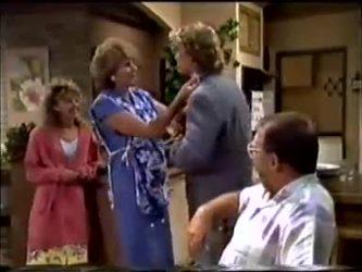 Charlene Mitchell, Madge Mitchell, Henry Mitchell, Harold Bishop in Neighbours Episode 0464